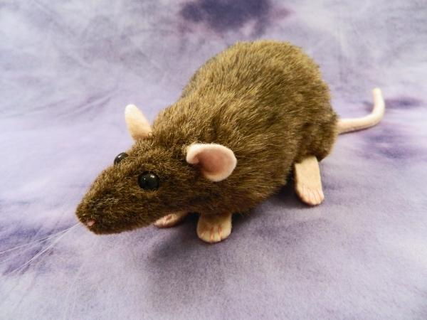 Agouti Brown Rat Plushie