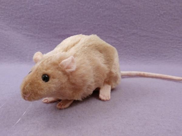 Beige Rat Plushie