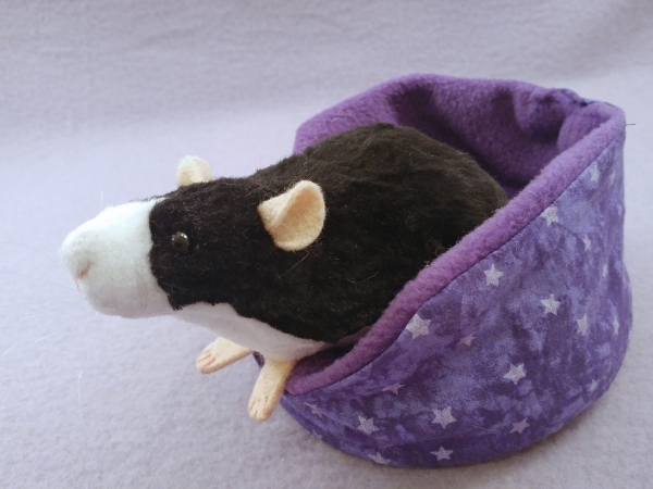 Black Blazed Rat Plushie
