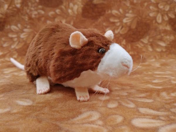 Brown Blazed Rat Plushie