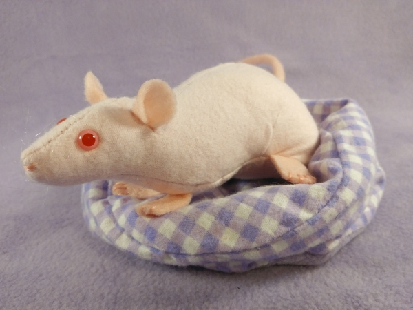 Hairless Rat Plushie