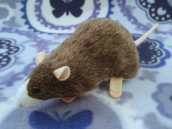 Mink Blazed Rat Plushie