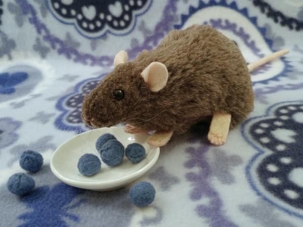 Mink Rat Plushie