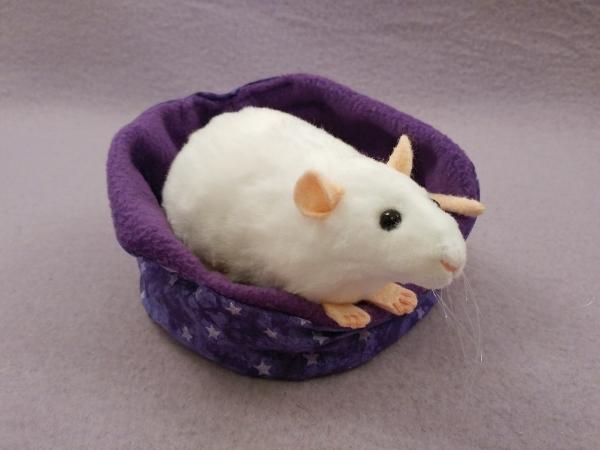 White Rat Plushie