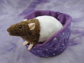 Agouti Brown Bareback Rat Plushie