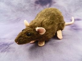 Agouti Brown Rat Plushie
