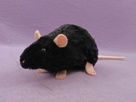 Black Rat Plushie