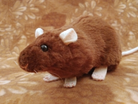 Brown Rat Plushie