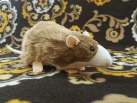 Light Brown Blazed Rat Plushie