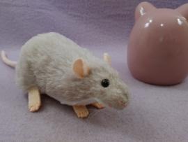 Light Grey Berkshire Rat Plushie