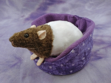 Agouti Brown Bareback Rat Plushie