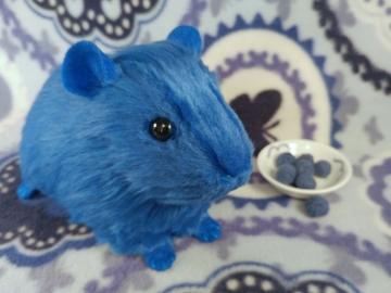 Big Blue Guinea Pig Plushie