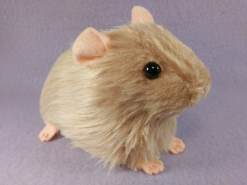 Big Frosted Pink Guinea Pig Plushie