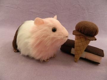 "Big Neapolitan ""Poli"" Guinea Pig Plushie"