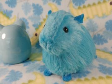 Big Turquoise Guinea Pig Plushie