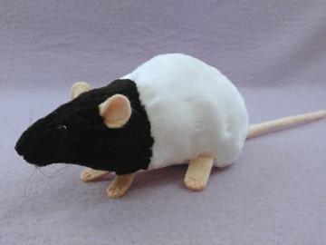 Black Bareback Rat Plushie