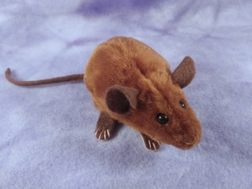 Brown Mouse Plushie