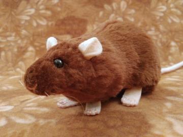 Brown Rat Plushie