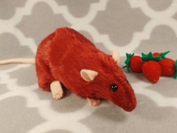 Maroon Rat Plushie