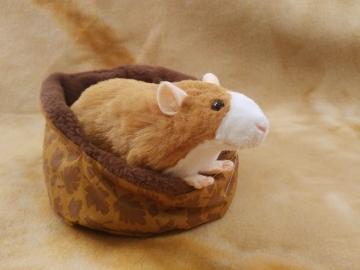 Fawn Blazed Rat Plushie