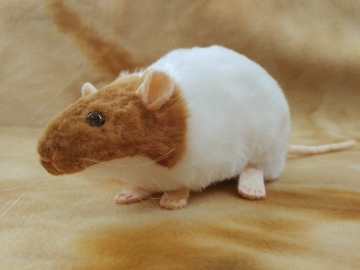 Fawn Capped Rat Plushie
