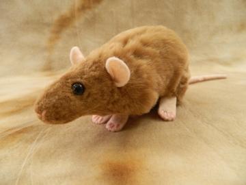 Fawn Rat Plushie