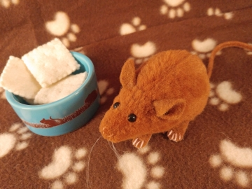 Ginger Mouse Plushie