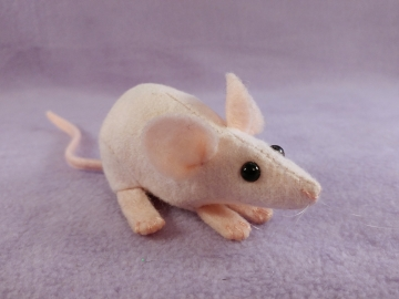 Hairless Mouse Plushie