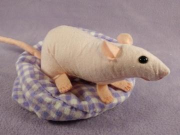 Hairless Rat Plushie