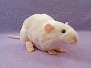 Ivory Rat Plushie