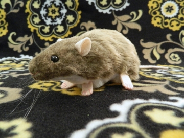 Light Brown Berkshire Rat Plushie