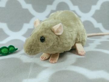 Light Green Rat Plushie
