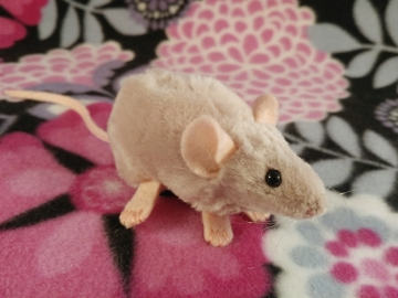 Light Pink Mouse Plushie