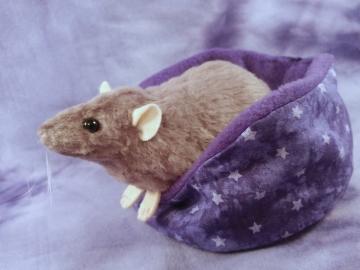 Light Purple Rat Plushie