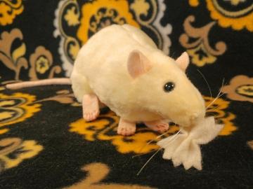 Little Yellow Rat Plushie