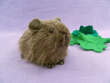 Little Agouti Guinea Pig Plushie
