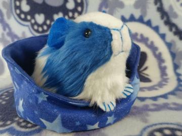 Little Blue Dutch Guinea Pig Plushie