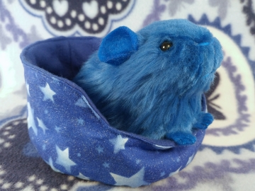 Little Blue Guinea Pig Plushie