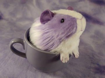Little Lavender Dutch Guinea Pig Plushie