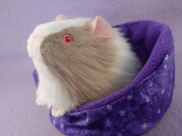 Little Lilac Grey Dutch Guinea Pig Plushie