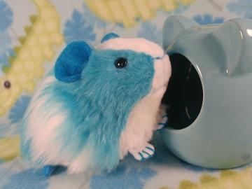 Little Turquoise Dutch Guinea Pig Plushie