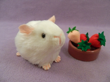 Little White Guinea Pig Plushie