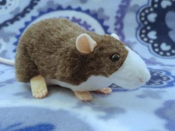 Mink Blazed Rat Plushie