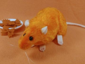Orange Rat Plushie