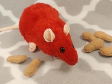 Red Rat Plushie