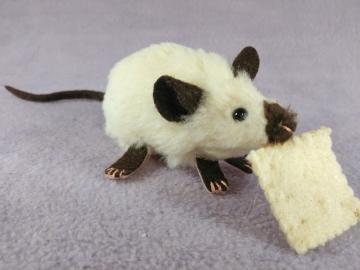 Siamese Mouse Plushie
