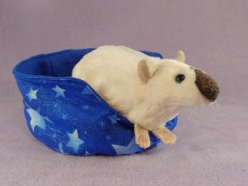 Siamese Rat Plushie