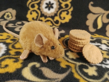 Tan Mouse Plushie