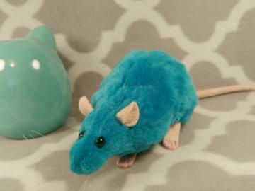Teal Rat Plushie