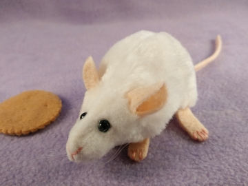 White Mouse Plushie